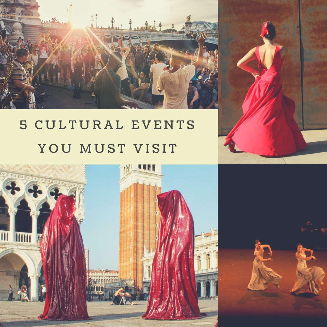 5 cultural events you must visit