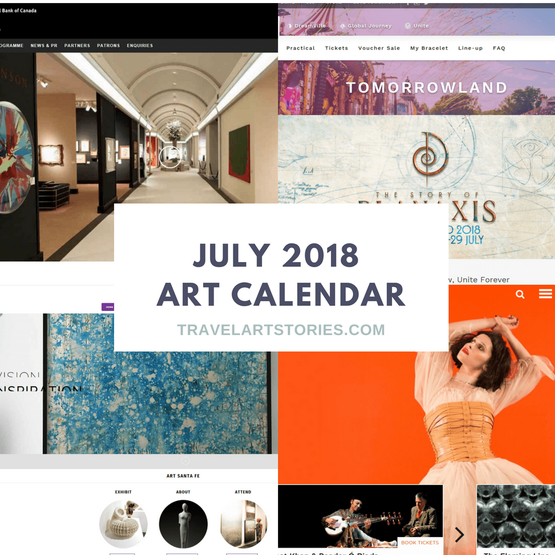 summer art events