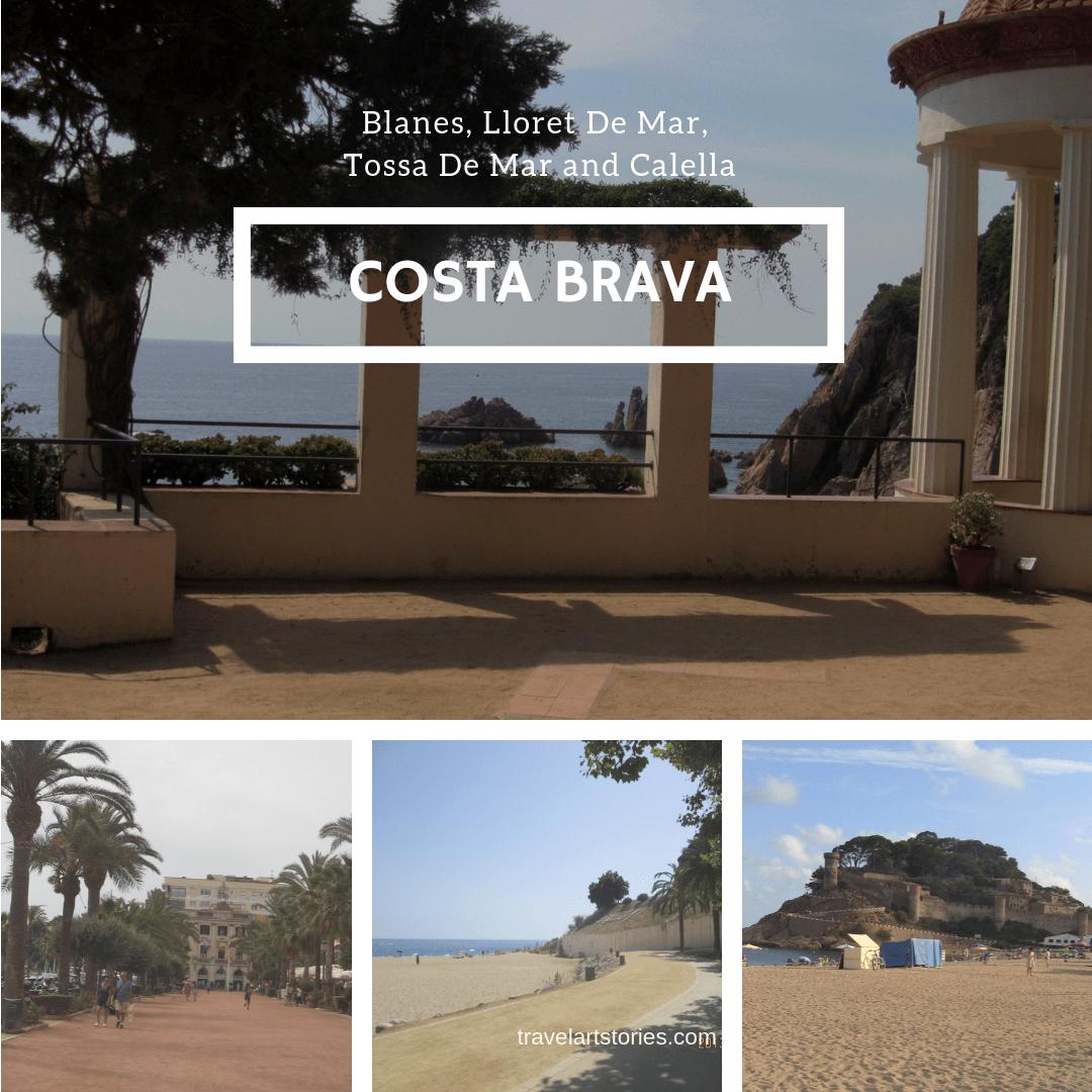 Blanes, Lloret De Mar, Tossa De Mar and Calella