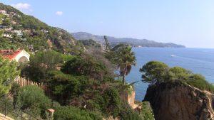 Botanic Garden in The Spanish City of Blanes
