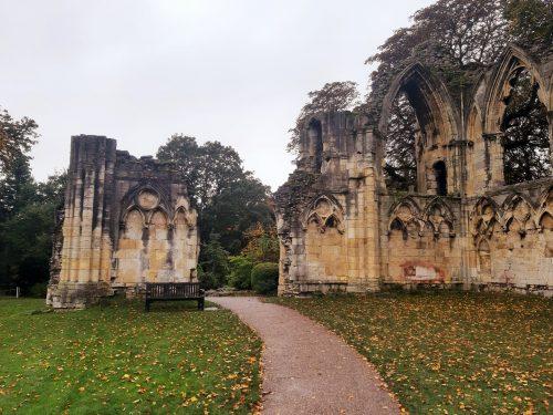 Autumn in York. England.