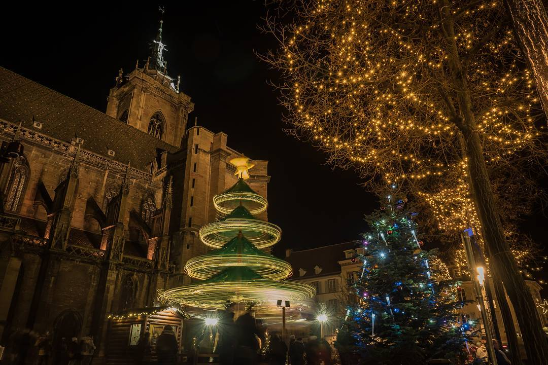 Magic Christmas Village in Colmar, France