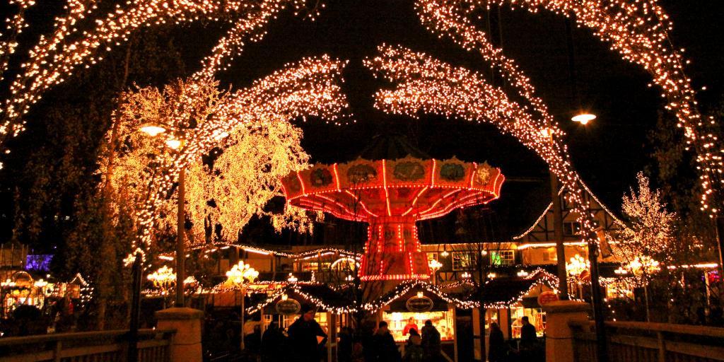 Scandinavian Christmas Market in Gothenberg, Sweden