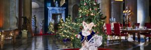 Christmas in Blenheim Palace, Woodstock, Oxfordshire