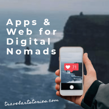 apps & websites for digital nomads
