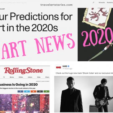 art news 2020