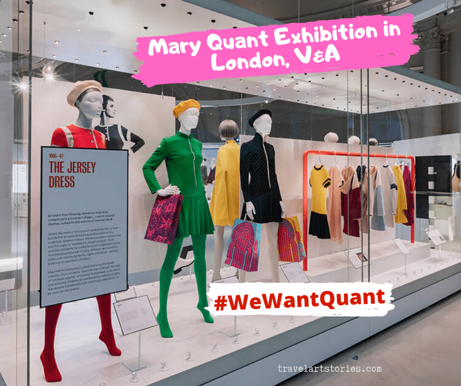 Mary Quant Exhibition in London, V&A