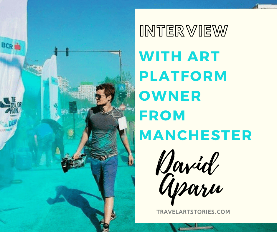 interview with Art platform owner from manchester - David Aparu