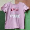 Pink logo t-shirt