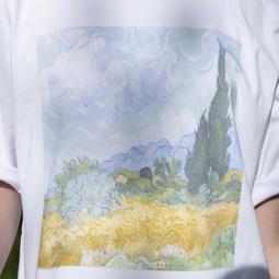 Van Gogh print t-shirt