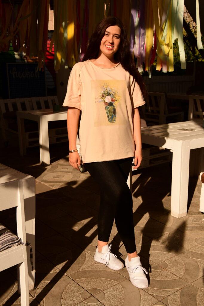 Odilon Redon oversized t-shirt