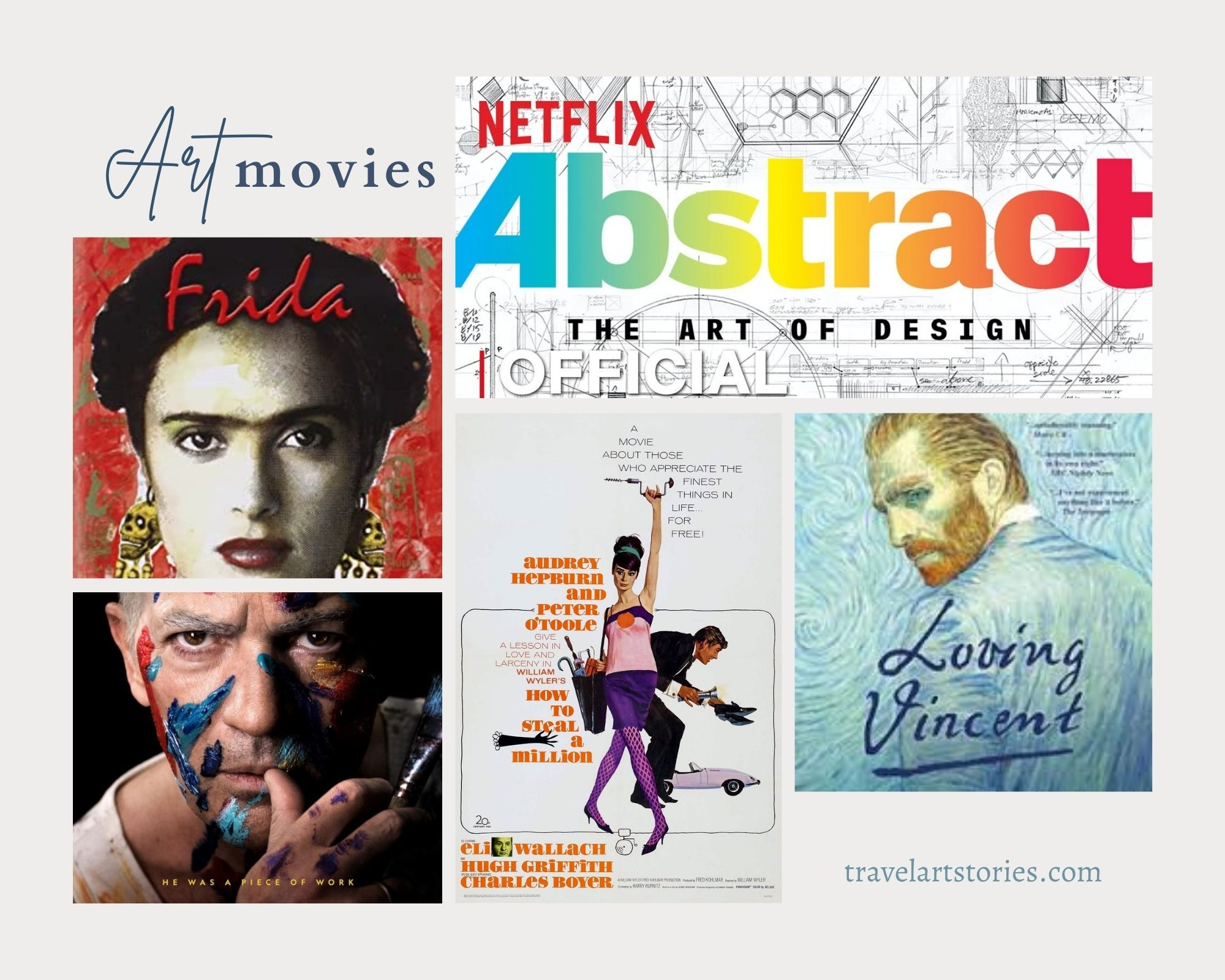The TV series and Art Movies all Art Lovers Will Enjoy